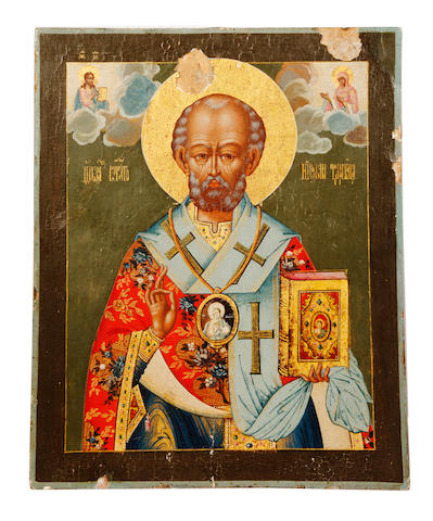 St. NicholasRussian, 19th century