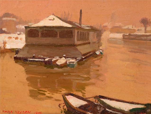 Hans Heysen (1877-1968) Seine, Paris  1902