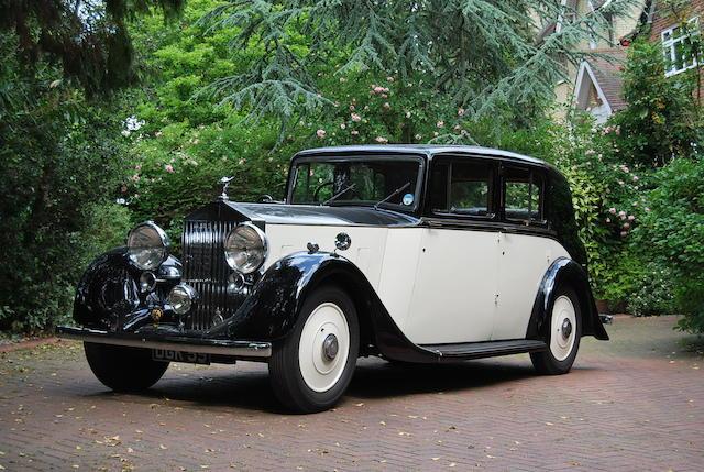 1938 Rolls-Royce 25/30,