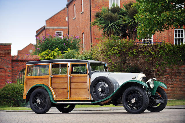 50 years in the current ownership,1925 Bentley 3-Litre Shooting Brake  Chassis no. 915 Engine no. 923