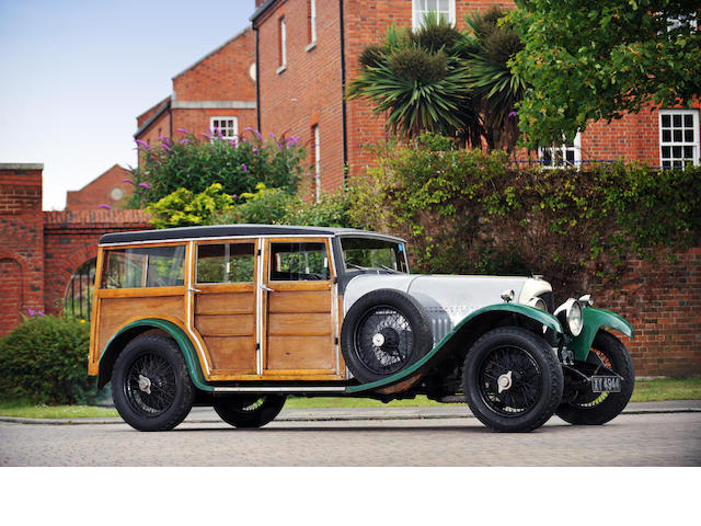 1925 Bentley 3-litre Shooting Brake  Chassis no. 915 Engine no. 923