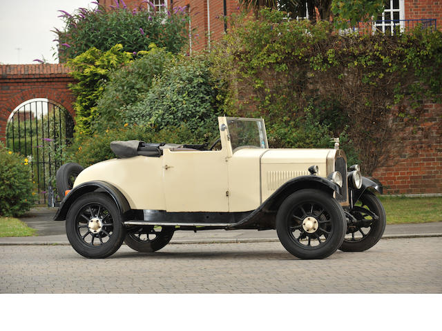 1929 Swift 2 Seater with Dickey  Chassis no. 35927 Engine no. 35927