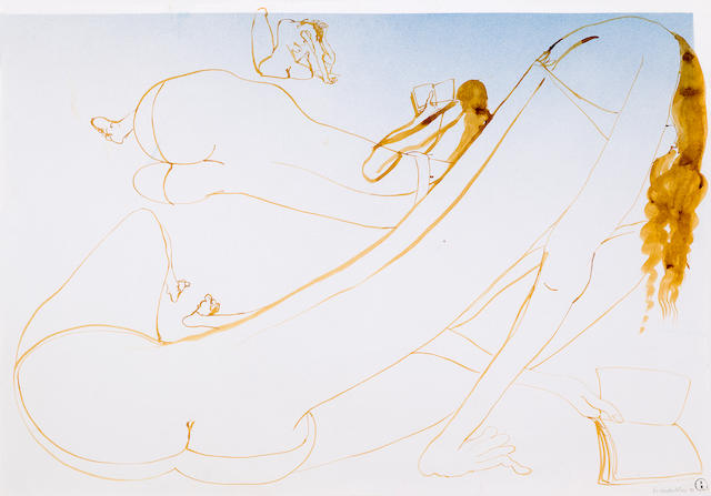 Brett Whiteley (1939-1992) On the Beach 1970