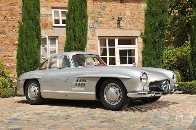 1955 Mercedes-Benz 300SL 'Gullwing' Coupé  Chassis no. 5500202 Engine no. 5500185