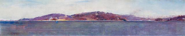 Tom Roberts (1856-1931) Sydney Harbour c.1898