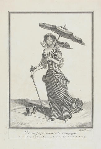 Various Artists A Collection of French Costume Subjects Thirty-seven engravings by J. de St. Jean and N.Bonnart, c.1680-1710, on laid paper, each 348 x 240 mm (13 5/8 x 9 1/2 in) (unframed) (37)