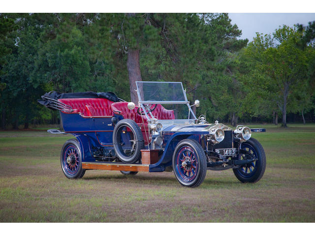 1908 Rolls-Royce 40/50hp Silver Ghost Tourer