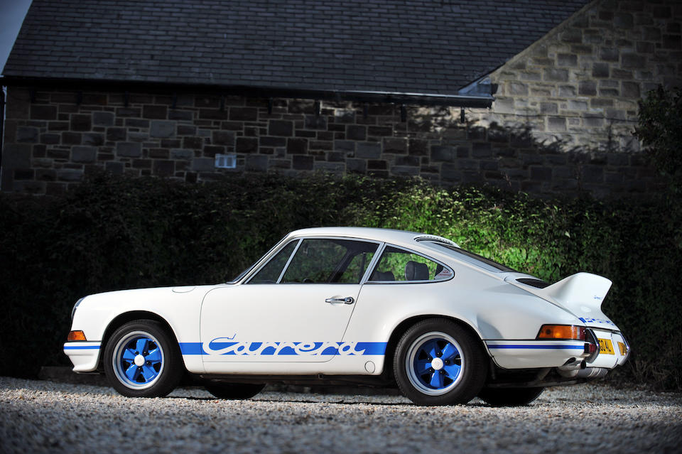 1973 Porsche 911 Carrera RS 2.7-Litre 'Lightweight' Coupé  Chassis no. 9113601500 Engine no. 6631460 (not fitted but offered with the car)