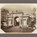 ARCHITECTURAL VIEWS An album of 59 architectural views in Benares, Cawnpore, Lucknow, Agra and Delhi by John Sache, Thomas Rust and Francis Frith, [c.1875]