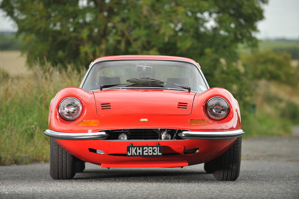 One owner, 30,000 miles from new,1972 Ferrari Dino 246GT  Chassis no. 04330 Engine no. 04330