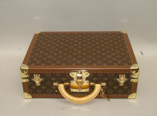 A small Louis Vuitton case,