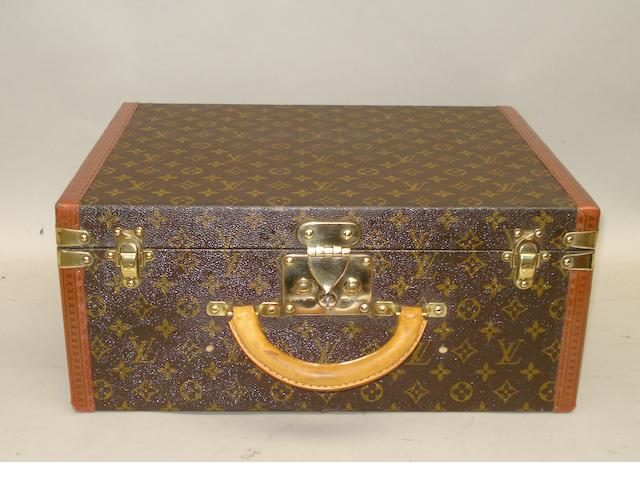 A Louis Vuitton case,