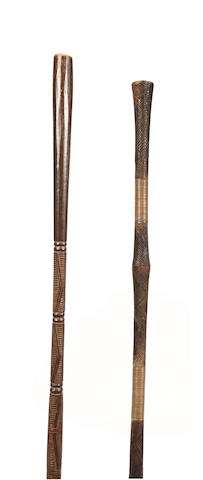 Two Congo staffs