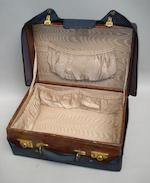 A crocodile skin dressing case, by Asprey & Co. Ltd,