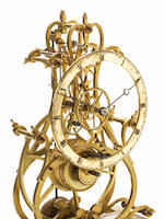 Skeleton clock by James Condliff, Liverpool