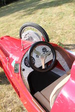 A half-scale Alfa Romeo 158 petrol-driven child's car,