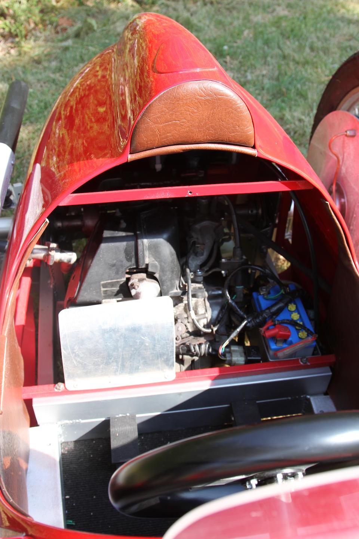 A half-scale Alfa Romeo 158 petrol-driven child's car,