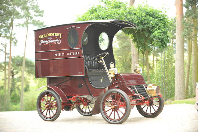 1904 Cadillac Model A Delivery Van