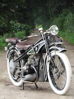 1925 BMW 494cc R32 Frame no. 3588 Engine no. 3329
