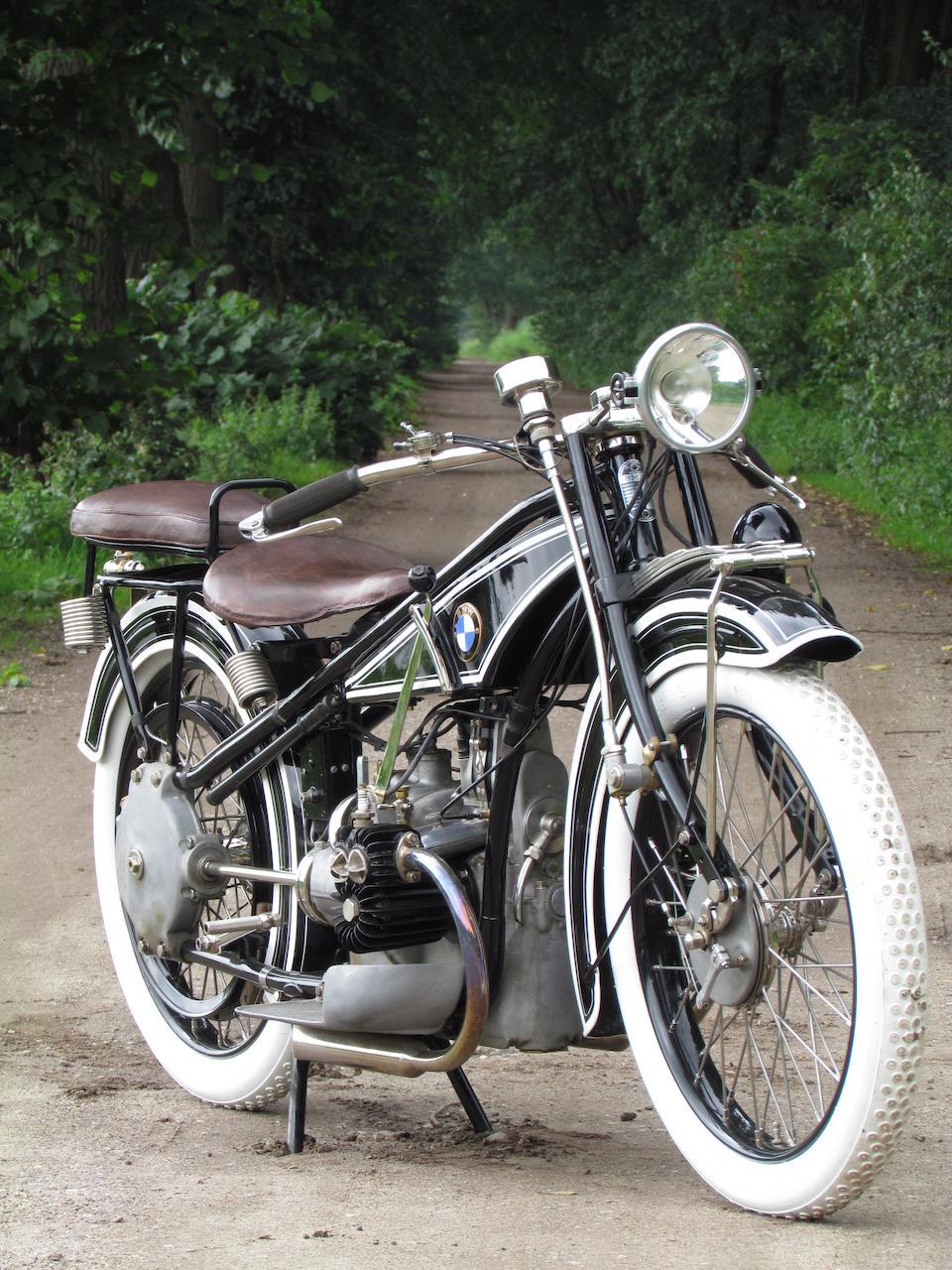 1925 BMW 494cc R32 Frame no. 3588 Engine no. 3329