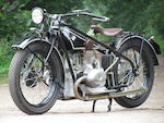 1927 BMW 494cc R47 Frame no. 4624 Engine no. 34943