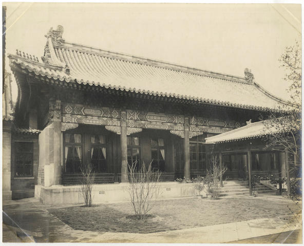 CHINA - BRITISH CROWN PROPERTIES An album of 100 interior and exterior views, 1911 and later