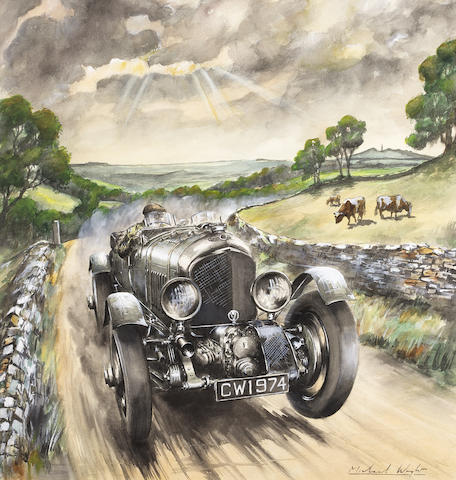 Michael Wright (British, 1935 - ); 'Blower Bentley',