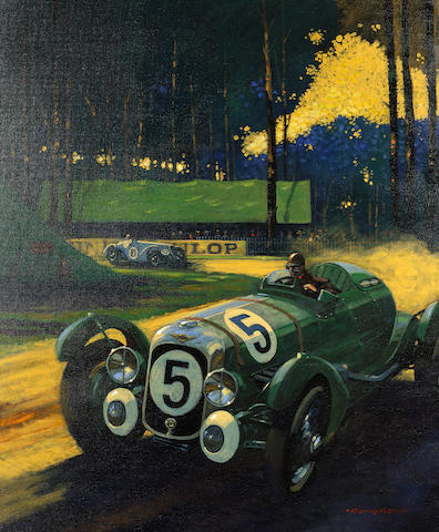 Barry Rowe, 'Lagonda Legend',