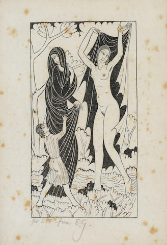 Eric Gill (British, 1882-1940) Nature and Nakedness (G. 420)REFERENCE