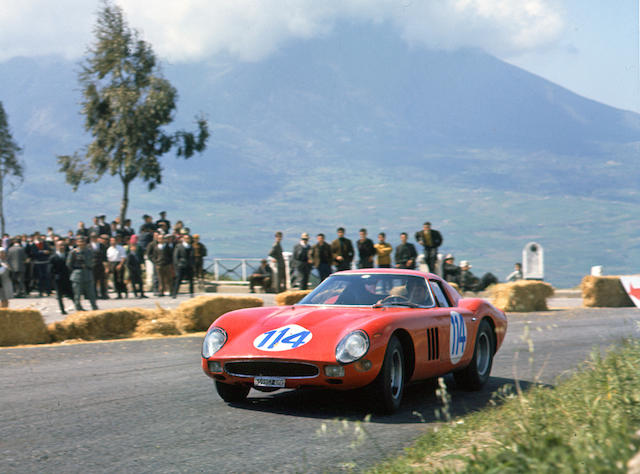An album of Ferrari colour photographs by Geoffrey Goddard,
