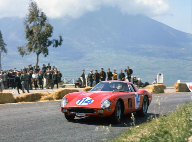 An album of Ferrari colour photographs by the Late Geoffrey Goddard,
