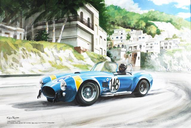Ken Rush (1931 - ); Targa Florio 1964,