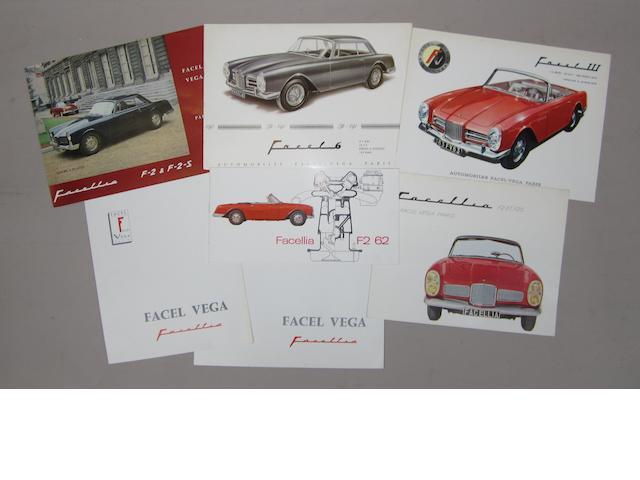 Seven Facel Vega Facellia sales brochure