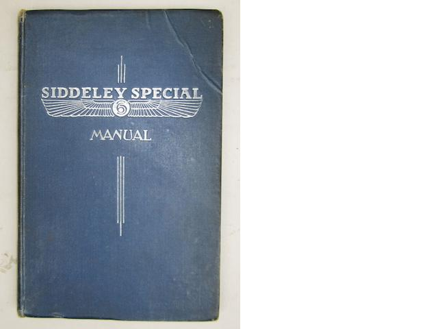 A Armstrong Siddeley Special manual