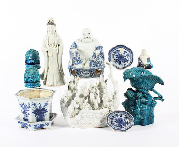 A group of Chinese porcelain