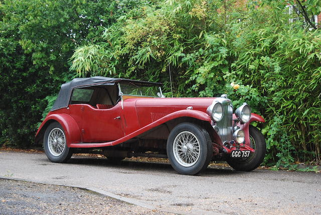 1935 Lagonda M35 Rapide,