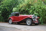 1935 Lagonda M35 Rapide Tourer  Chassis no. 211364 Engine no. 23112