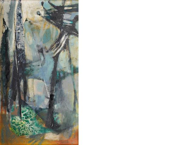 Judy Cassab (Australian, born 1920) Trees