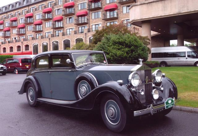 1937 Rolls-Royce Phantom III 40/50hp Sports Saloon  Chassis no. 3BT93 Engine no. X28E