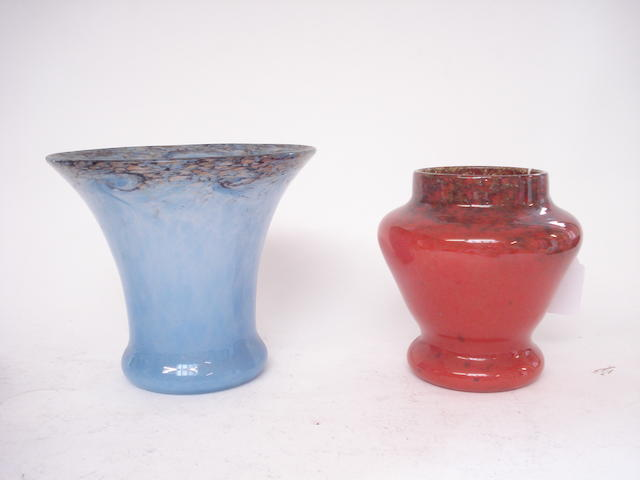Two Monart vases