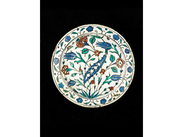 An Iznik pottery Bowl Turkey, 17th Century