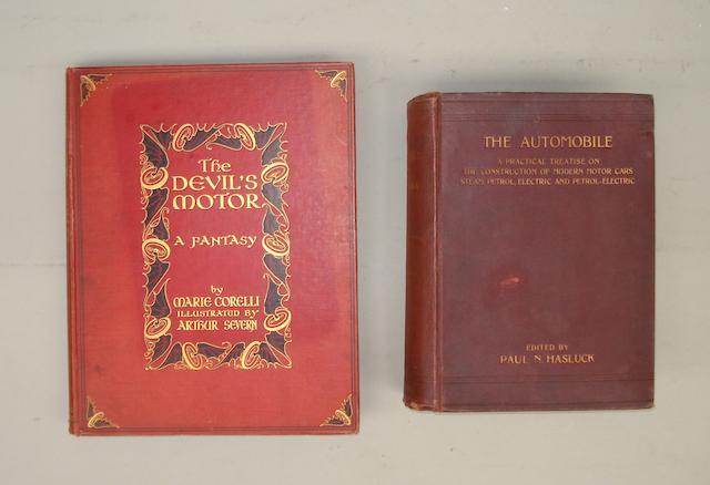 Two Edwardian motoring books