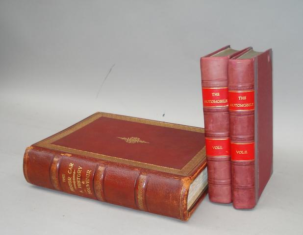 Paul N Hasluck: The Automobile; 1905, Volumes I & II,