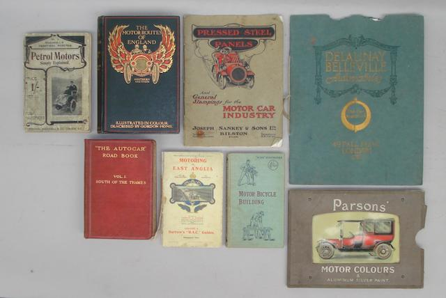 Three items of Edwardian sales literature,