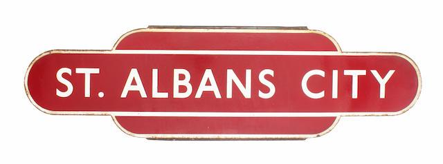 BR(M) totem St Albans City hf
