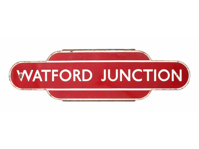 BR(M) totem Watford Junction hf