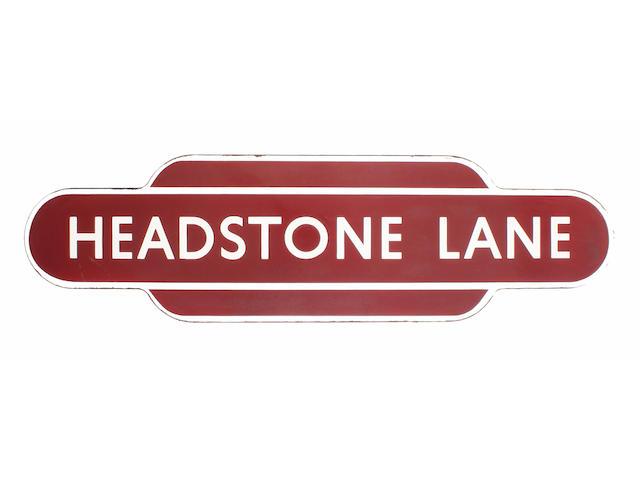 BR(M) totem Headstone Lane ff