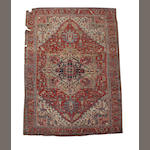 A Heriz carpet North West Persia