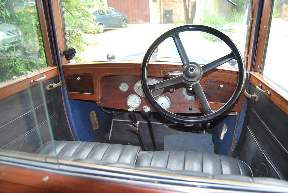1927 Armstrong Siddeley 20hp Saloon  Chassis no. 7866 Engine no. 17218