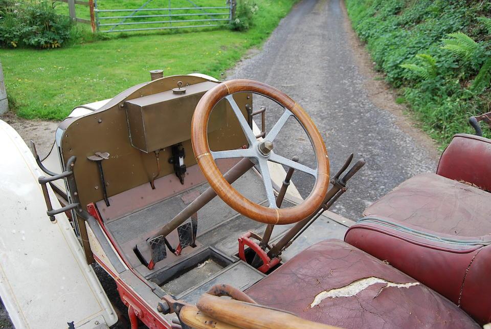 c.1910 CGV Charron Type X Roadster plus Dickey  Chassis no. 173 Engine no. 8227